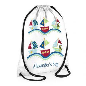 Boats-Swimming -Bag