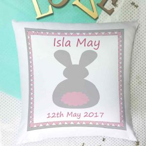 girls personalised cushions