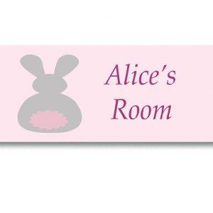 Bunny-Door-Sign