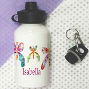 girls butterfly water bottle