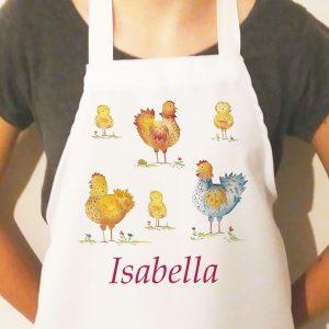 Chickens-Apron