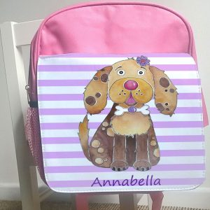 Girls Pink Ruck Sack