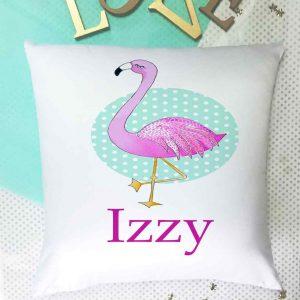 Flamingo-Cushion
