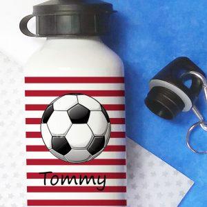 Football-Bottle-Red
