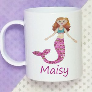 girls personalised cups