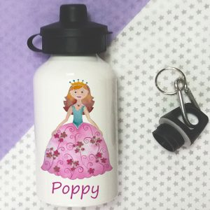 girls personalised water bottles
