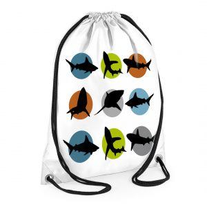 boys personalised swimming bag