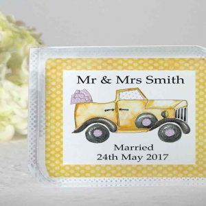Personalised Wedding Blocks