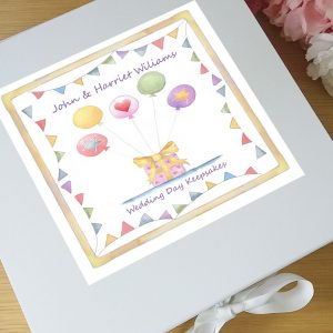 wedding day memory box