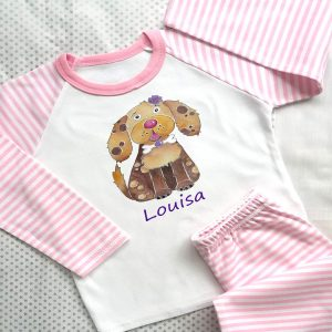 Personalised Girls nightwear