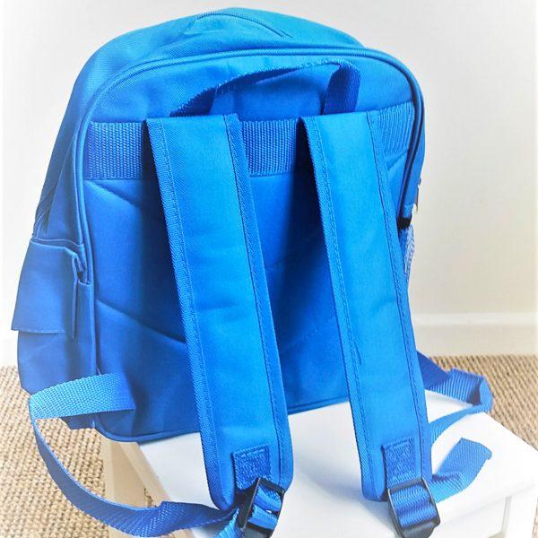 boys blue ruck sack