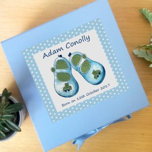 personalised baby keepsake gift