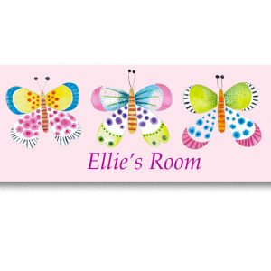 personalised door name plate