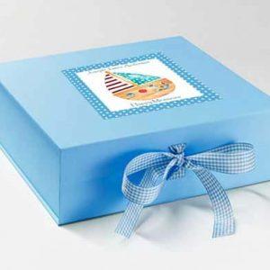Boys Christening Memory Box £15
