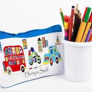 Big-Red-Bus-Pencil-Case