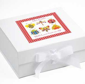 Bug Personalised Keepsake Box