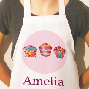 Cupcake Personalised Apron
