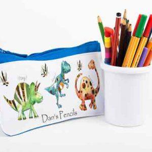 Dinosaur-Pencil-Cases