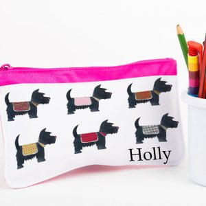 Dog Personalised Pencil Case
