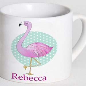 Flamingo-Personalised-Cup