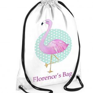 Flamingo-Swmming-Bag