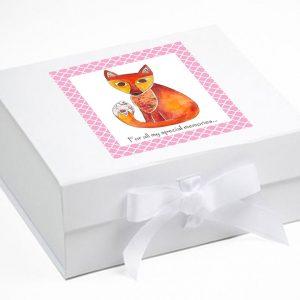 Fox-Keepsake-Box