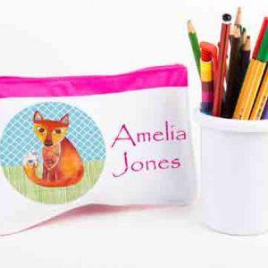 Fox-Pencil-Case