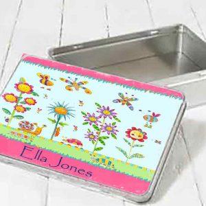 Funky-Flowers-Personalised-Tins