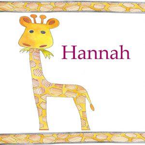 Giraffe-Mat