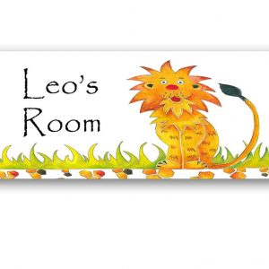 Jungle Animal Personalised Door Sign