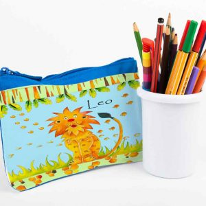Lion-Pencil-Case
