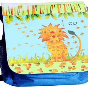 Lion-Personalised-Back-Pack