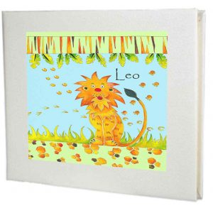 Lion-Personalised-Guest-Book