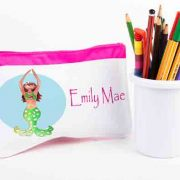 Mermaid Personalised Pencil Case