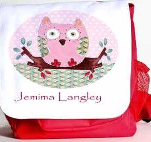 Owl-School-Bags