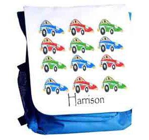 Sports-Car-School-Bag