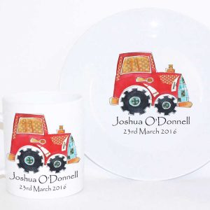 Tractor-Personalised-Dinner-Set
