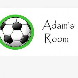 footballdoorsign