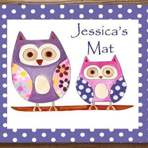hoot-personalised-table-mats