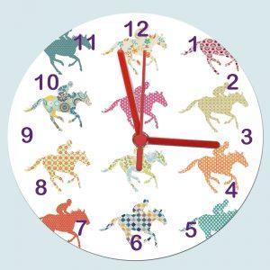 horse-clockgirl-clock
