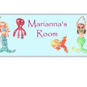 mermaid-door-sign