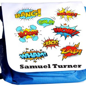Superhero personalised rucksack