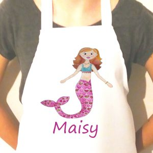 personalised aprons for girls