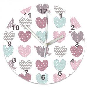 pastel-hearts-clock