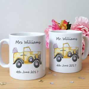 wedding-car-mugs