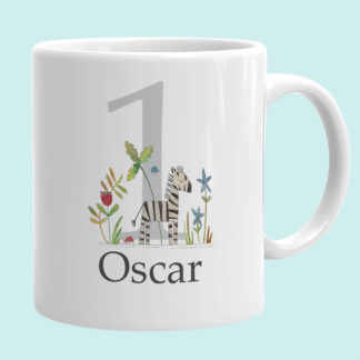 1st birthday personalised cup