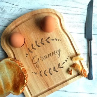 Granny Breakfast egg board
