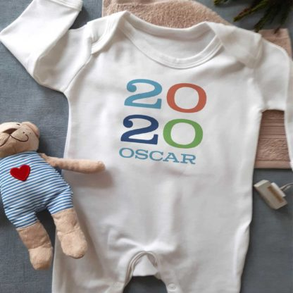 2020 Baby Boy Slepsuit