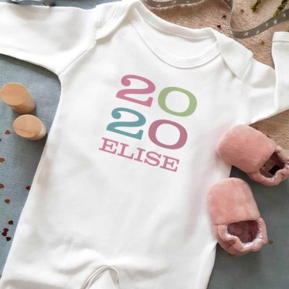 2020 Baby Girl Sepsuit