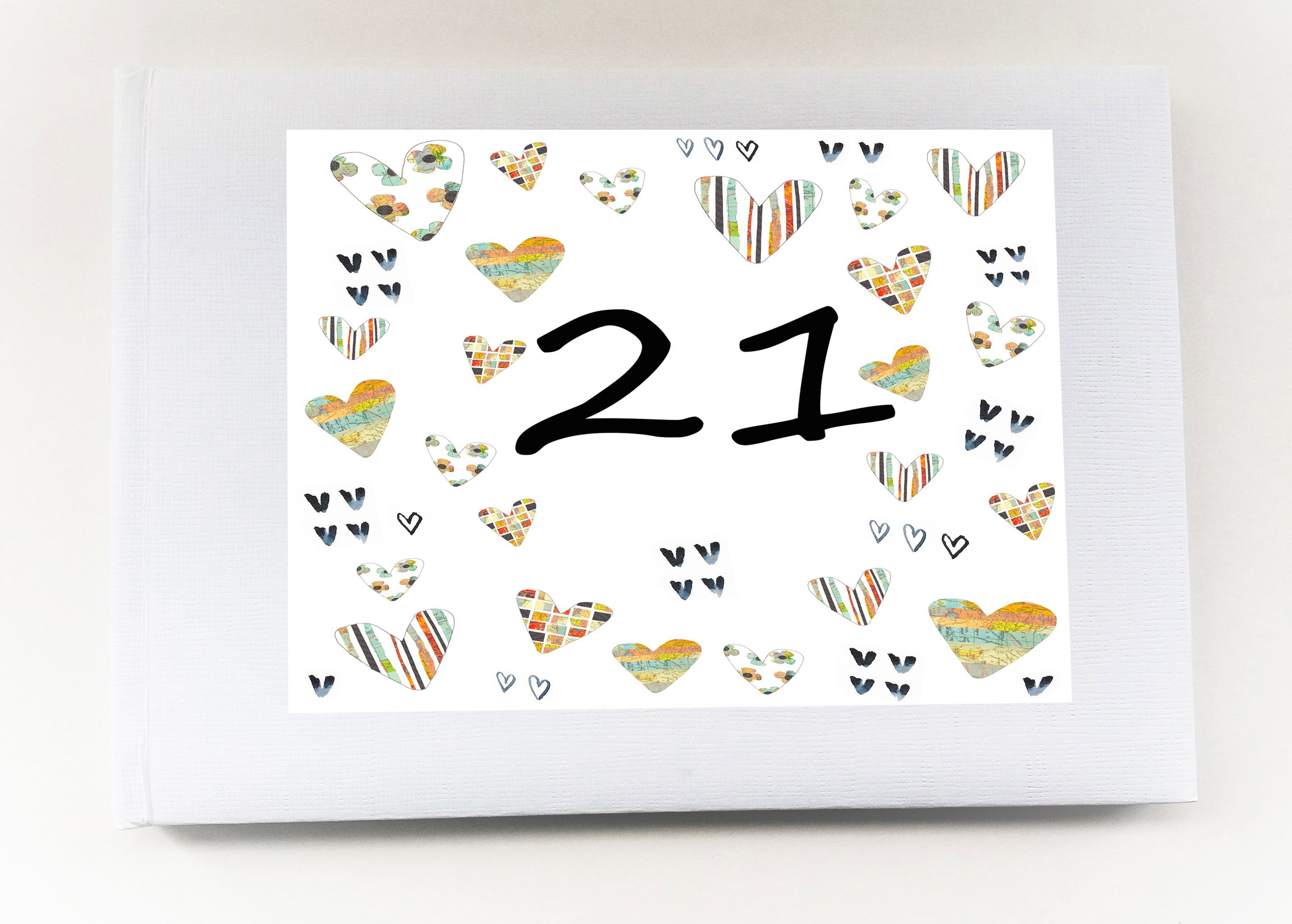 21st personalised record book